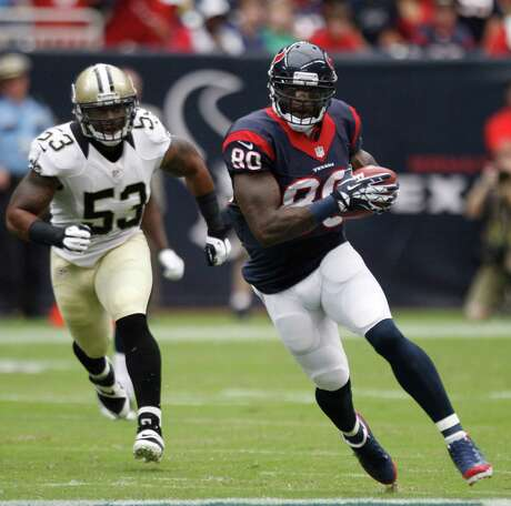 Texans wide receiver Andre Johnson showed he's ready for the season with seven receptions for 131 yards.
