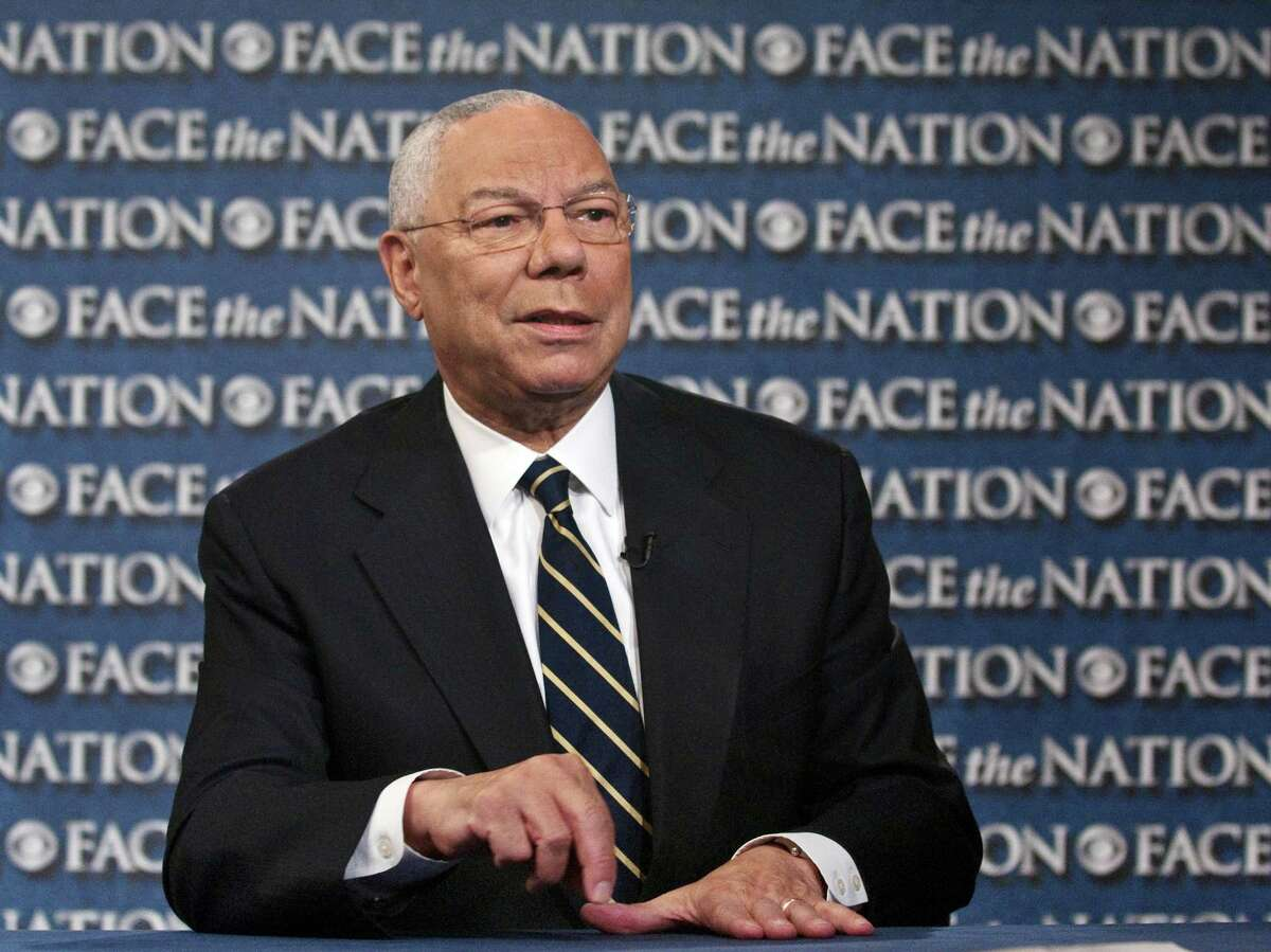 Colin Powell (Jamaican parents) - the 65th United States Secretary of State, serving under U.S. President George W. Bush from 2001 to 2005