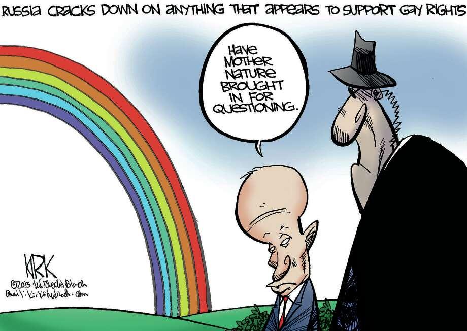 Cartoonist's view
