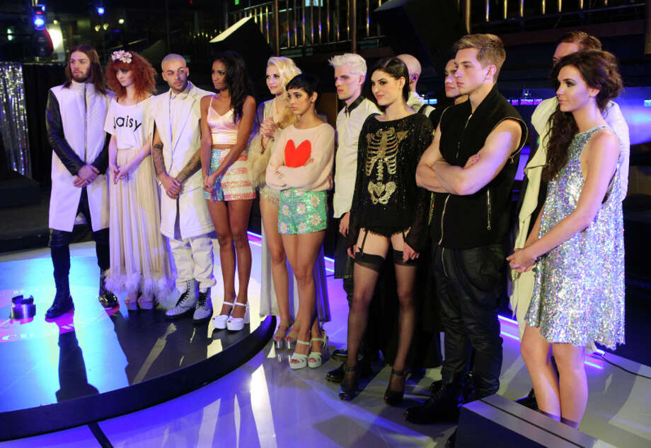 "America's Next Top Model -- ""The Girl Who Went Around in Circles"" pictured left to right: Phil, Nina, Don, Renee, Jourdan, Kanani, Chris H., Jiana, Marvin, Jeremy and Alex Cycle 20 Photo: Patrick Wymore/The CW ©2013 The CW Network, LLC. All Rights Reserved Photo: Patrick Wymore, The CW / ©2013 The CW Network, LLC. All Rights Reserved"
