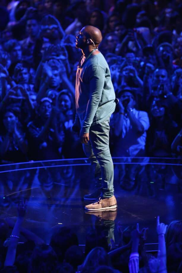 NEW YORK, NY - AUGUST 25:  Musician Kanye West performs onstage during the 2013 MTV Video Music Awards at the Barclays Center on August 25, 2013 in the Brooklyn borough of New York City.  (Photo by Neilson Barnard/Getty Images for MTV) Photo: Neilson Barnard, Getty Images For MTV