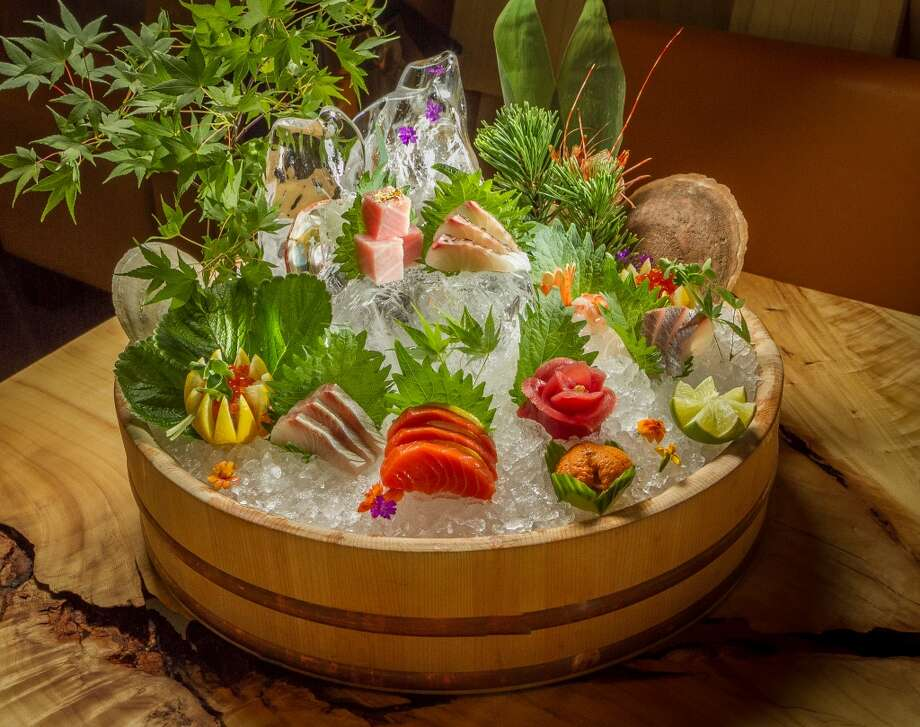 The Deluxe Sashimi Platter at Roka Akor in San Francisco. Photo: John Storey, Special To The Chronicle