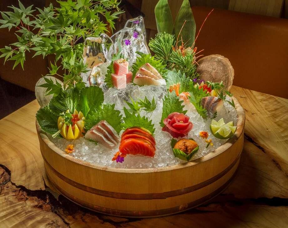 The Deluxe Sashimi Platter at Roka Akor in San Francisco. Photo: John Storey, Special To The Chronicle