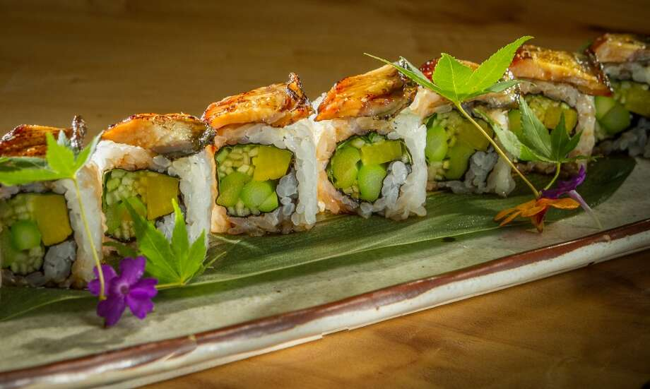 The grilled Eel roll at Roka Akor in San Francisco. Photo: John Storey, Special To The Chronicle