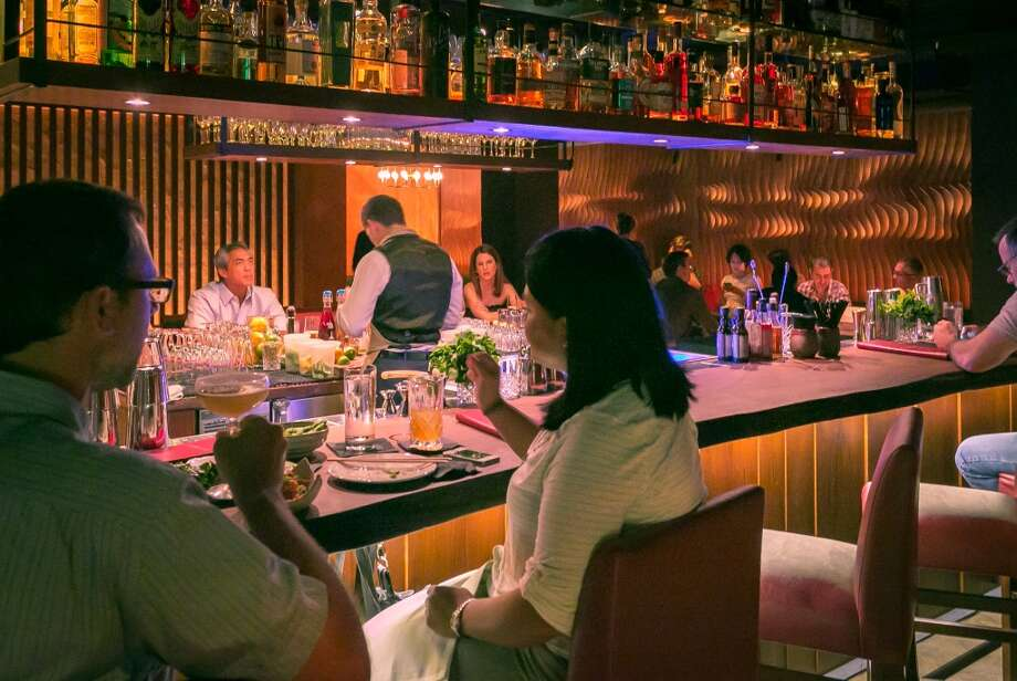 The bar at Roka Akor in San Francisco. Photo: John Storey, Special To The Chronicle