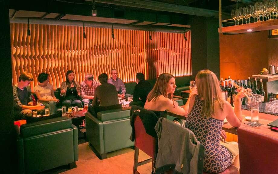 The bar at Roka Akor in San Francisco. Photo: John Storey, Special To The Chronicle