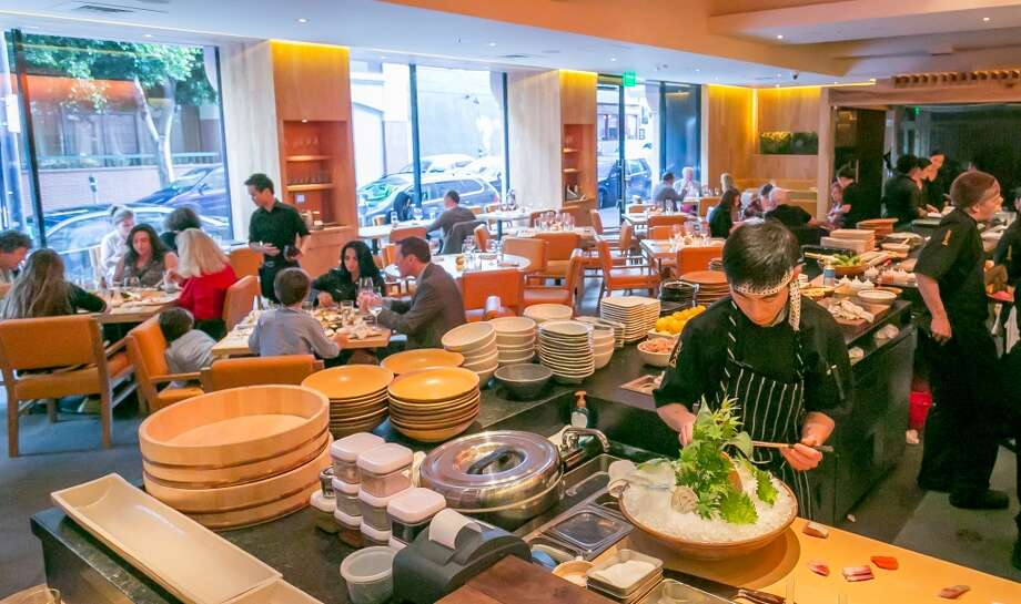 The open kitchen at Roka Akor in San Francisco. Photo: John Storey, Special To The Chronicle