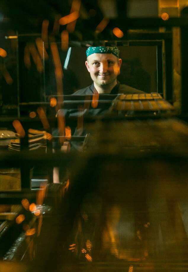 Chef Roman Petry at Roka Akor in San Francisco. Photo: John Storey, Special To The Chronicle