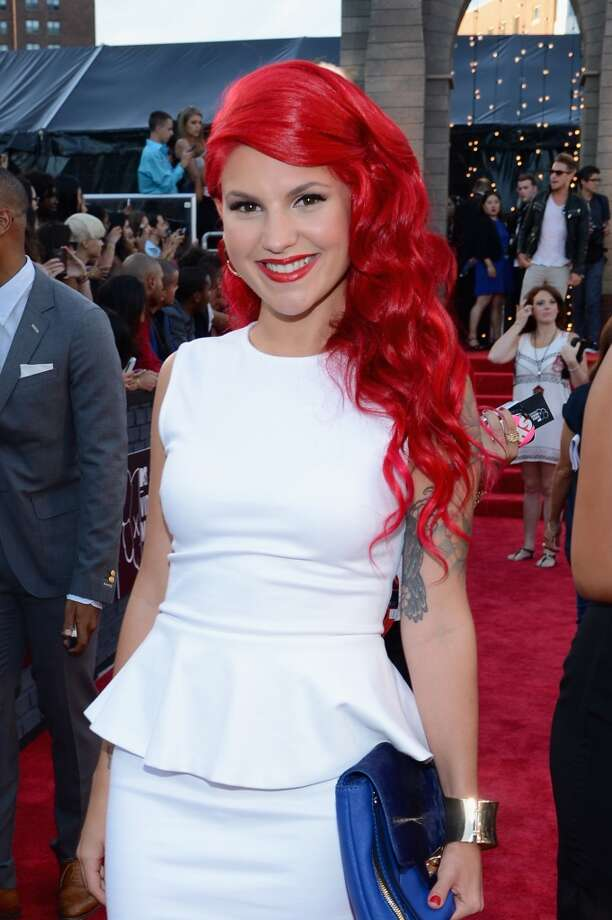 Carly Aquilino attends the 2013 MTV Video Music Awards at the Barclays Center on August 25, 2013 in the Brooklyn borough of New York City.  (Photo by Larry Busacca/Getty Images for MTV) Photo: Larry Busacca, Getty Images For MTV