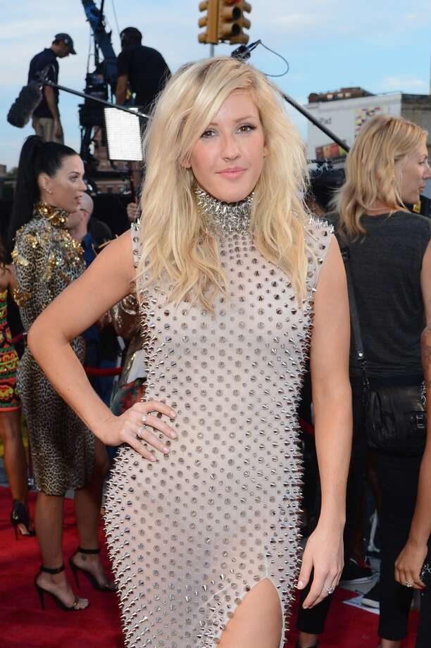 Ellie Goulding attends the 2013 MTV Video Music Awards at the Barclays Center on August 25, 2013 in the Brooklyn borough of New York City.  (Photo by Larry Busacca/Getty Images for MTV) Photo: Larry Busacca, Getty Images For MTV