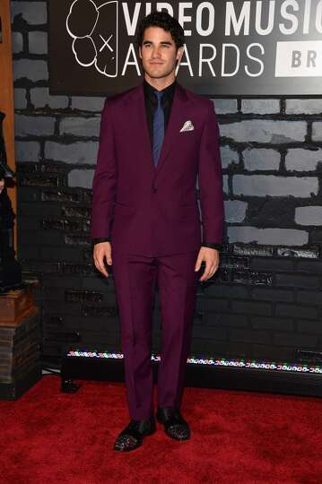 NEW YORK, NY - AUGUST 25:  Actor Darren Criss attends the 2013 MTV Video Music Awards at the Barclay