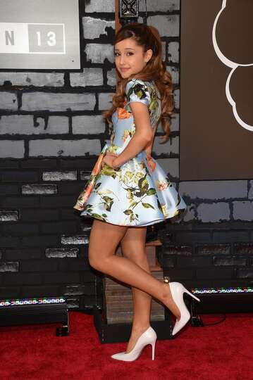 Singer Ariana Grande attends the 2013 MTV Video Music Awards at the Barclays Center on August 25, 20