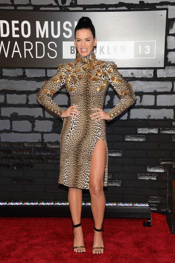 Katy Perry attends the 2013 MTV Video Music Awards at the Barclays Center on August 25, 2013 in the Brooklyn borough of New York City.  (Photo by Jamie McCarthy/Getty Images for MTV) Photo: Jamie McCarthy, Getty Images For MTV