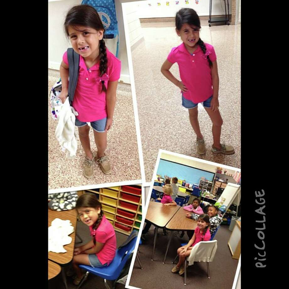 Back to school photo submitted by Cindy Maggio. Photo: The Beaumont Enterprise