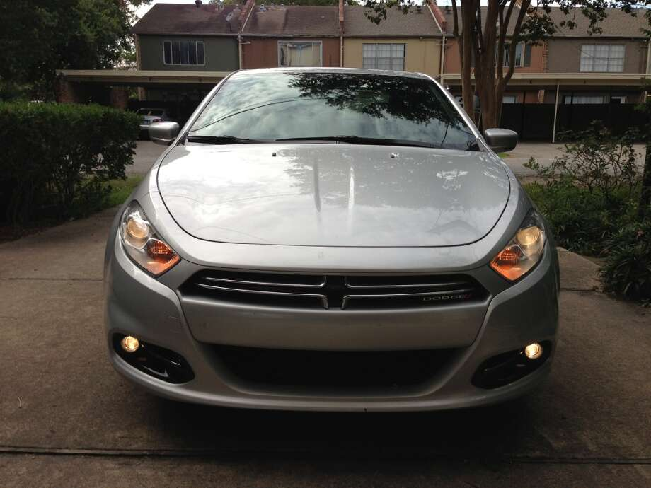 2013 Dodge Dart Limited. Can you spot the Dodge badge in the grill? Photo: Dwight Silverman, Houston Chronicle