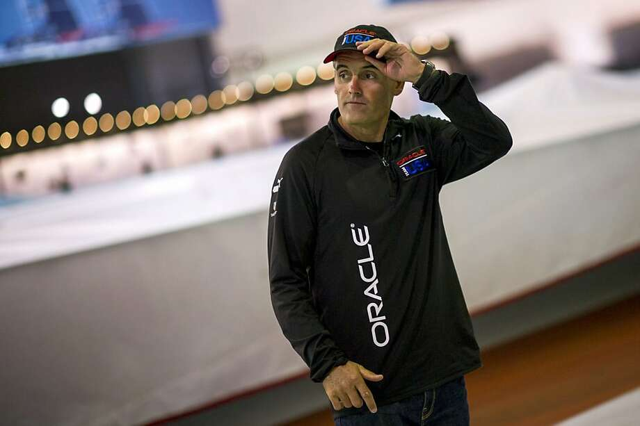 New Zealand's Russell Coutts, a former America's Cup champion skipper aboard the Swiss boat Alinghi, is now the CEO of Oracle Team USA. Photo: David Paul Morris, Bloomberg