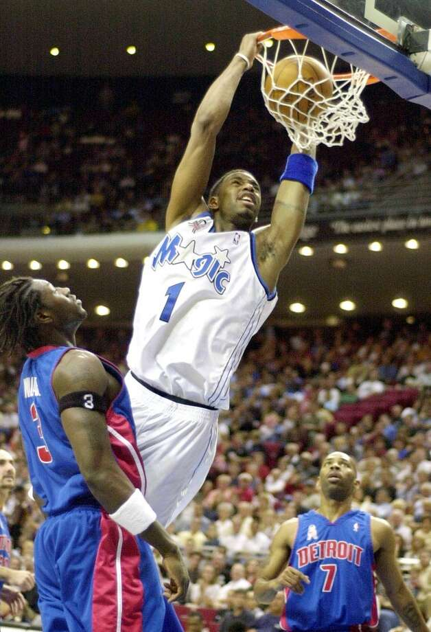 2001-02 seasonMcGrady made his second All-Star appearance in his fifth season in the NBA. He averaged 25.6 points, 7.9 rebounds and 5.3 assists. Photo: Mark Von Wehrden, Associated Press
