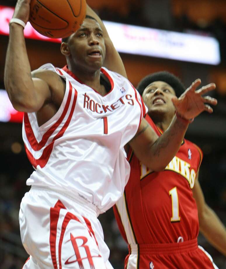 2005-06 seasonMcGrady played in only 47 games and the Rockets missed the playoffs in his second year in Houston. Despite his injury problems, he was voted to the All-Star Game that was to be played in Houston at Toyota Center. Photo: Sharon Steinmann, Houston Chronicle
