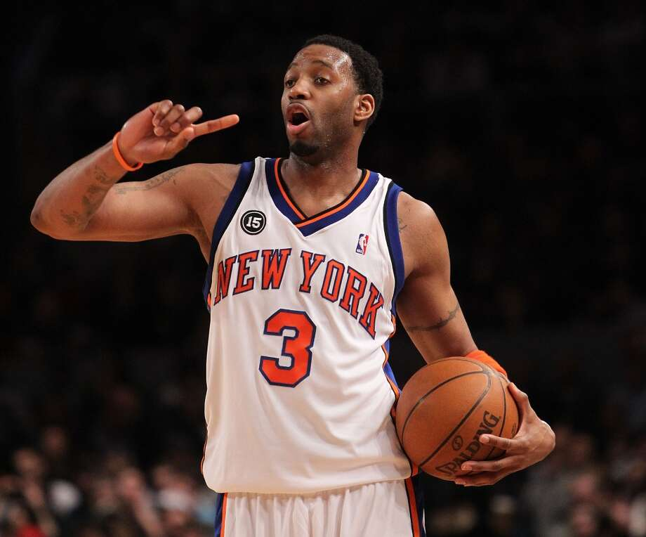 Traded to KnicksOn February 18, 2010, McGrady was traded to the New York Knicks as part of a three-team trade involving Houston, New York, and the Sacramento Kings. Photo: Nick Laham, Getty Images