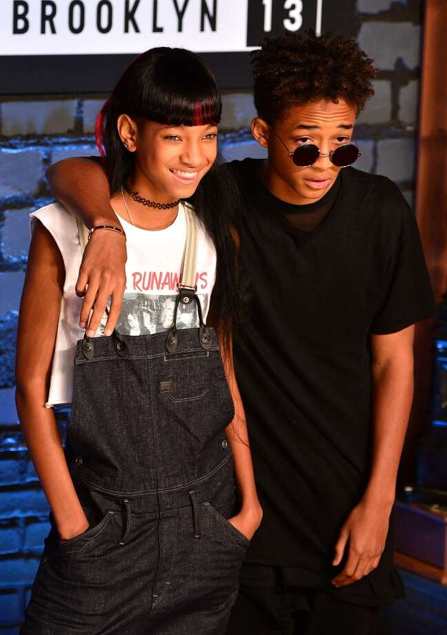 Willow and Jaden Smith are the cutest ever. And if that's not a baby Fresh Prince, we don't know what is. Photo: James Devaney, WireImage
