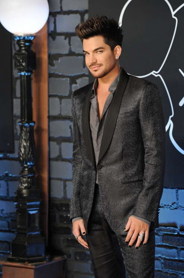 Adam Lambert arrives at the MTV Video Music Awards on Sunday, Aug. 25, 2013, at the Barclays Center in the Brooklyn borough of New York. (Photo by Evan Agostini/Invision/AP) Photo: Evan Agostini, Associated Press