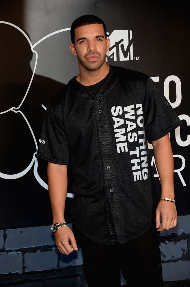 Drake attends the 2013 MTV Video Music Awards at the Barclays Center on August 25, 2013 in the Brooklyn borough of New York City.  (Photo by Jamie McCarthy/Getty Images for MTV) Photo: Jamie McCarthy, Getty Images For MTV