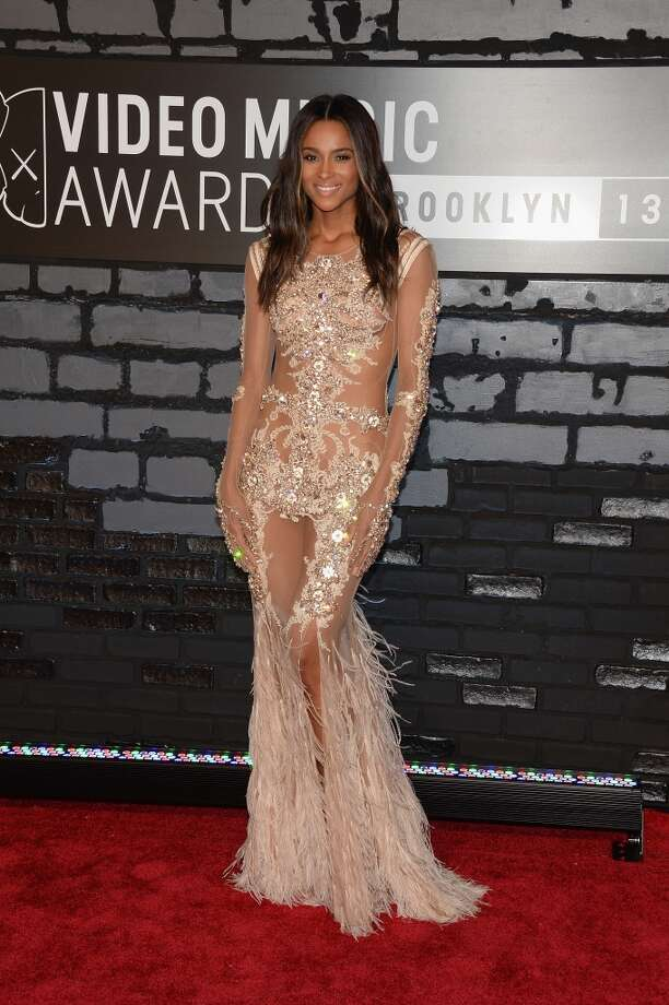 Ciara attends the 2013 MTV Video Music Awards at the Barclays Center on August 25, 2013 in the Brooklyn borough of New York City.  (Photo by Jamie McCarthy/Getty Images for MTV) Photo: Jamie McCarthy, Getty Images For MTV