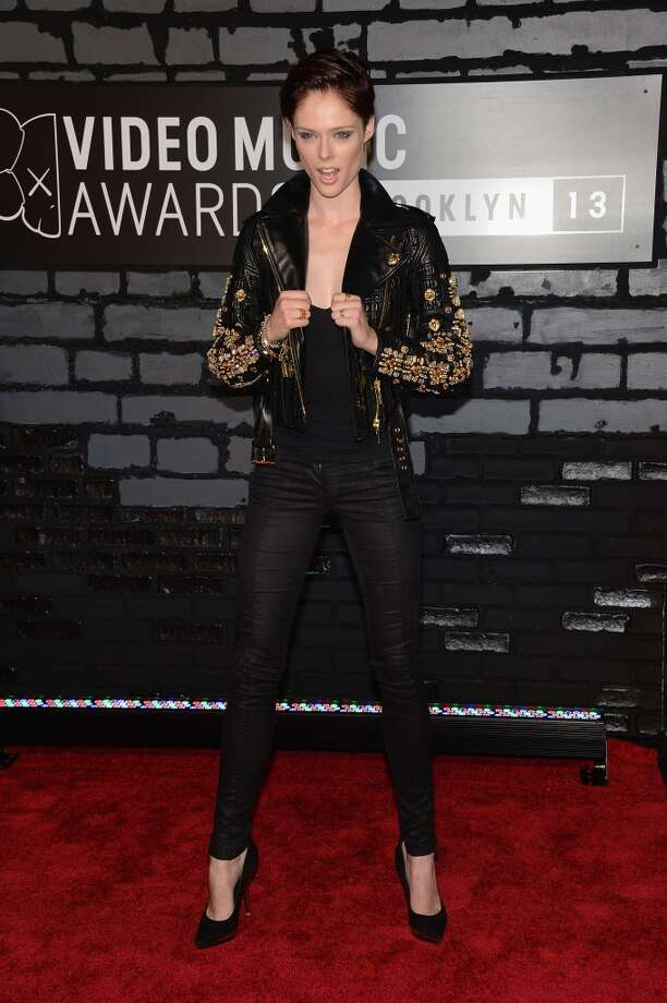 TV personality Coco Rocha attends the 2013 MTV Video Music Awards at the Barclays Center on August 25, 2013 in the Brooklyn borough of New York City.  (Photo by Jamie McCarthy/Getty Images for MTV) Photo: Jamie McCarthy, Getty Images For MTV