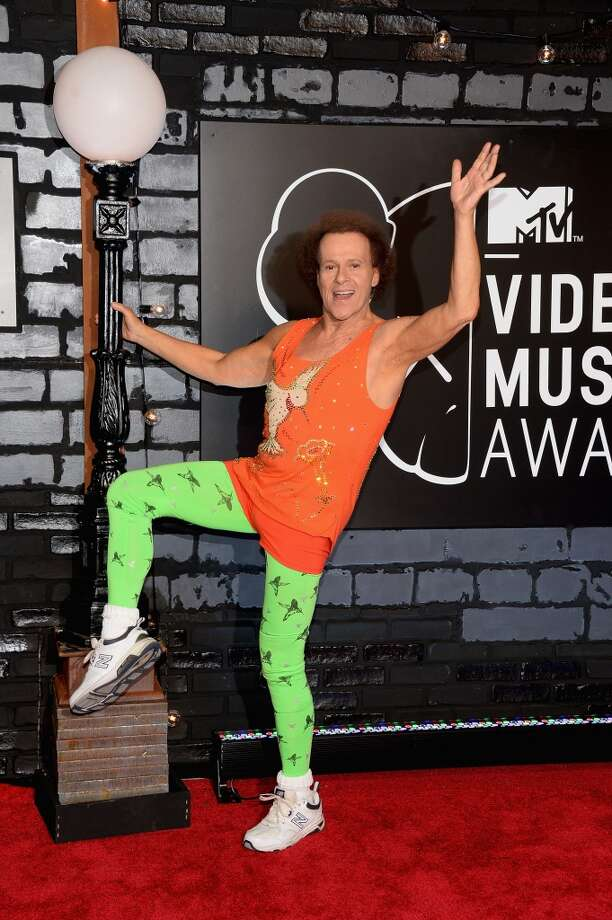 TV Personality Richard Simmons attends the 2013 MTV Video Music Awards at the Barclays Center on August 25, 2013 in the Brooklyn borough of New York City.  (Photo by Jamie McCarthy/Getty Images for MTV) Photo: Jamie McCarthy, Getty Images For MTV
