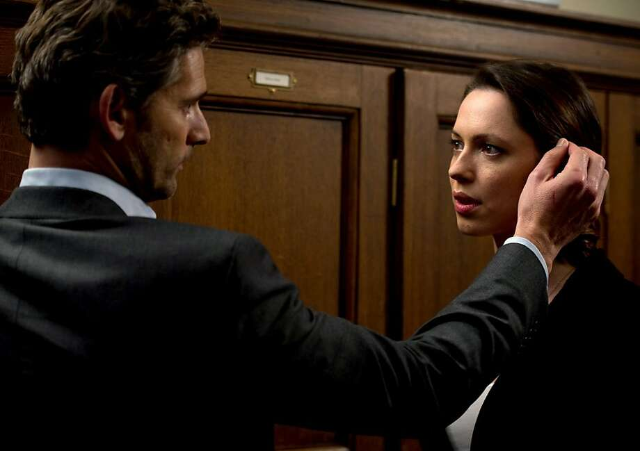 "Eric Bana and Rebecca Hall star in the thriller ""Closed Circuit."" Photo: Jay Maidment, Focus Features"