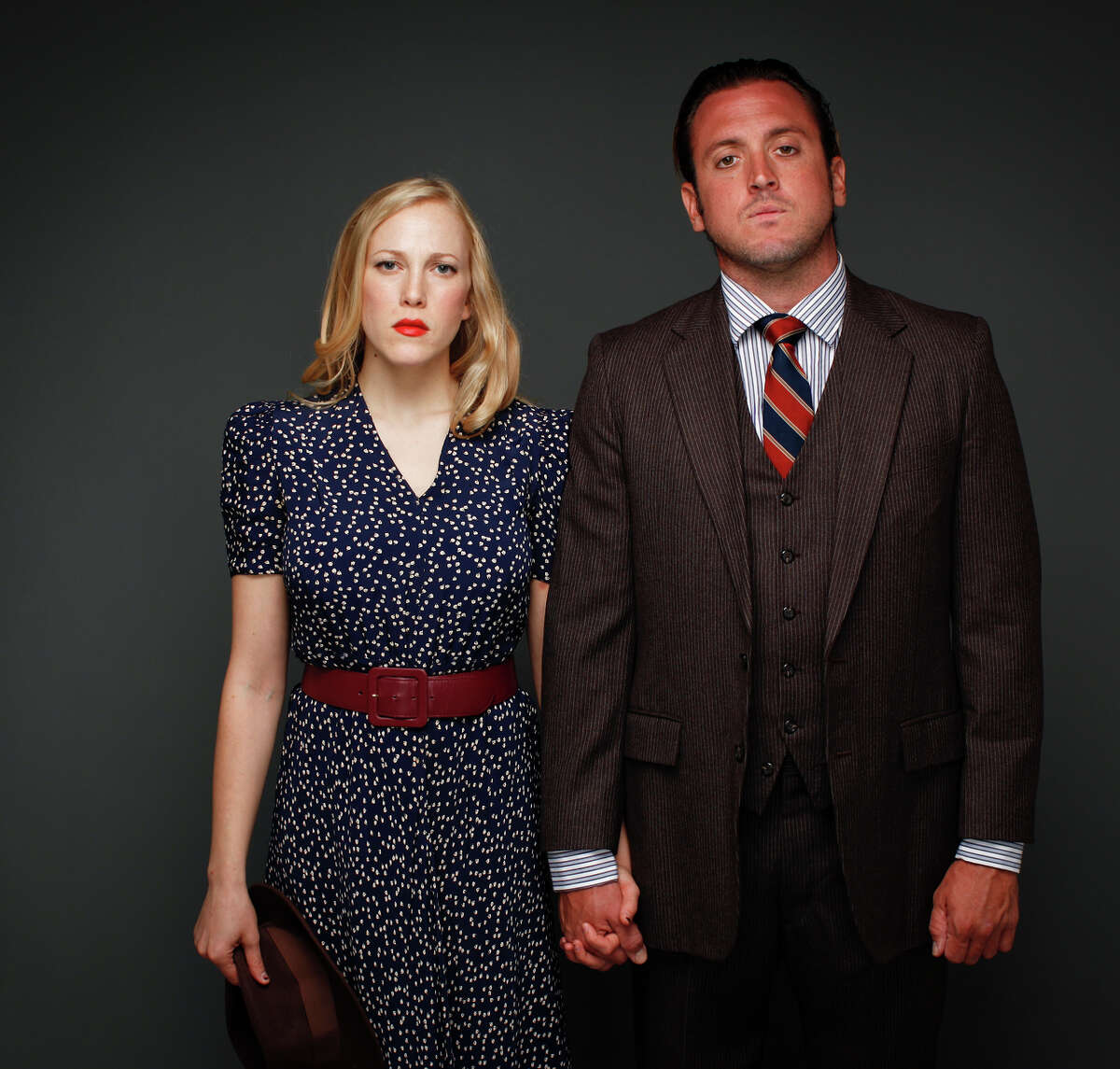 """Megan Trout starred with Joe Estlack in the Shotgun Players' """"Bonnie and Clyde."""""""
