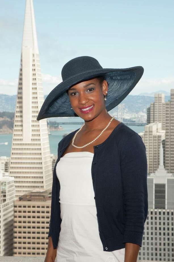 Kachi Okoronkwo at the Spinsters of San Francisco Annual New Member Tea at the Fairmont on August 25, 2013. Photo: Drew Altizer Photography / @ Drew Altizer 2013