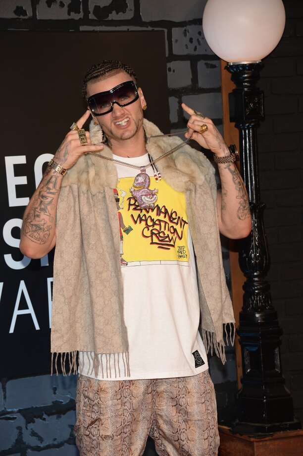 Rapper Riff Raff attends the 2013 MTV Video Music Awards at the Barclays Center on August 25, 2013 in the Brooklyn borough of New York City.  (Photo by Jamie McCarthy/Getty Images for MTV) Photo: Jamie McCarthy, Getty Images For MTV