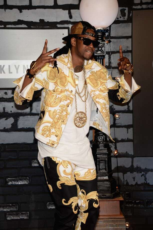 2 Chainz attends the 2013 MTV Video Music Awards at the Barclays Center on August 25, 2013 in the Brooklyn borough of New York City.  (Photo by Jamie McCarthy/Getty Images for MTV) Photo: Jamie McCarthy, Getty Images For MTV