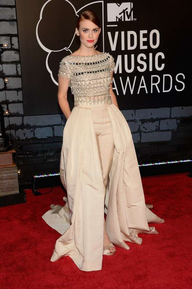 Holland Roden attends the 2013 MTV Video Music Awards at the Barclays Center on August 25, 2013 in the Brooklyn borough of New York City.  (Photo by Jamie McCarthy/Getty Images for MTV) Photo: Jamie McCarthy, Getty Images For MTV