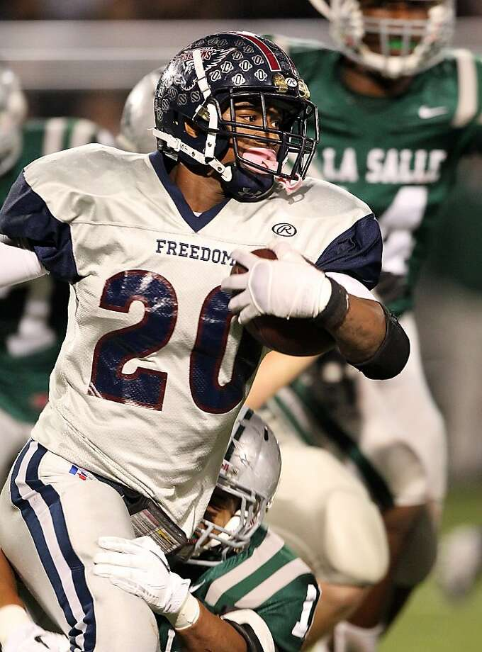 Freedom-Oakley senior Joe Mixon was rated as California's top football recruit; he'll be heading to Oklahoma. Photo: Dennis Lee, Maxpreps.com