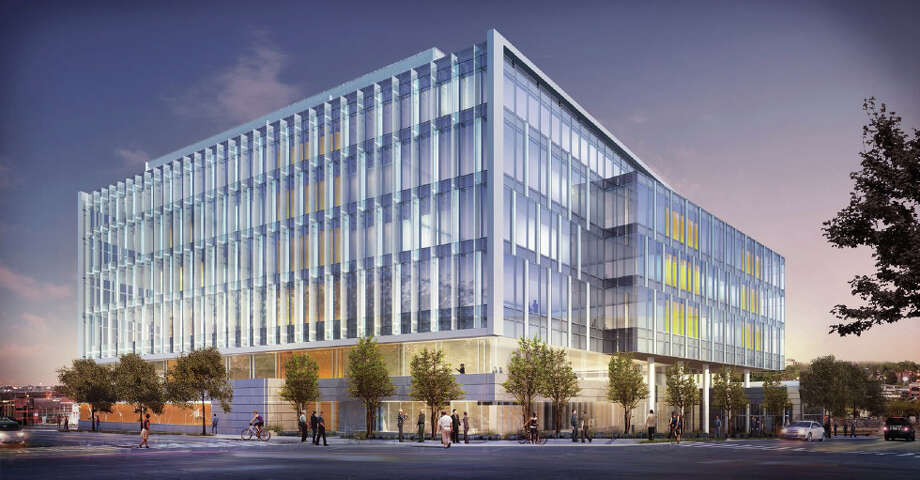 The proposed Allen Institute for Brain Science is shown in this artist's depiction. Photo: Perkins+Will