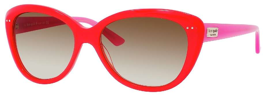 Kate Spade Angelique red sunglass, $128 Photo: Solstice Sunglasses