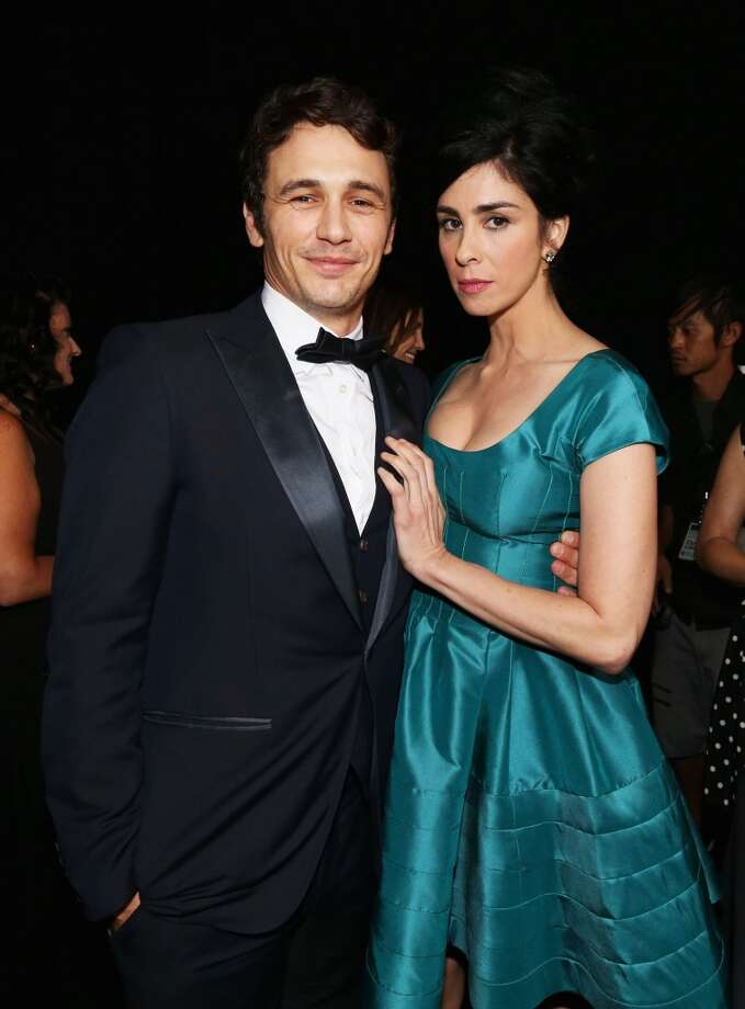 Roastee James Franco and comedienne Sarah Silverman attend The Comedy Central Roast of James Franco at Culver Studios on August 25, 2013 in Culver City, California. Photo: Christopher Polk, Getty Images For Comedy Central