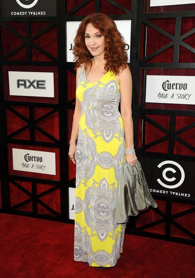 Actress Amy Yasbeck attends the Comedy Central Roast of James Franco at Culver Studios on August 25, 2013 in Culver City, California. Photo: Jason LaVeris, FilmMagic