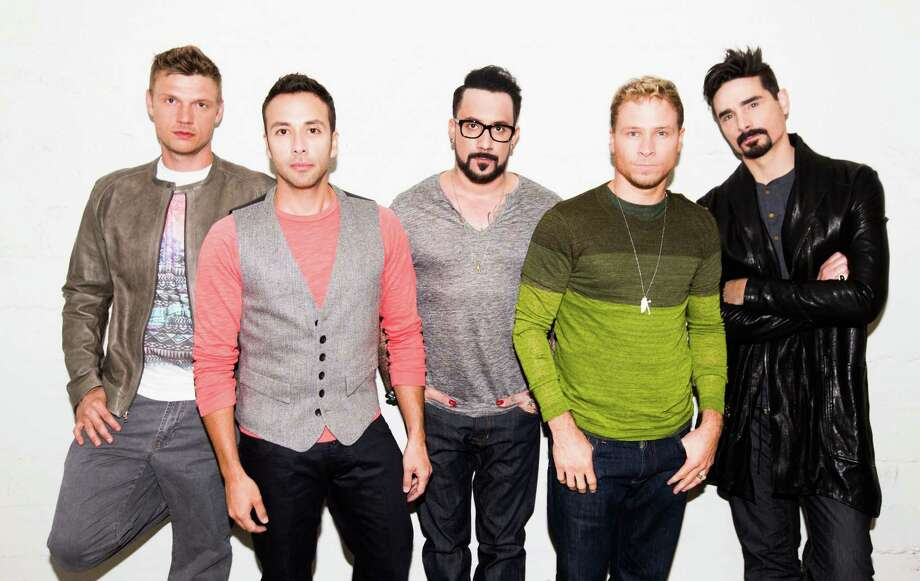 The Backstreet Boys - from left, Nick Carter, Howie Dorough, A.J. McLean, Brian Littrell and Kevin Richardson - have sold more than 130 million records worldwide. Photo: Big Hassle Media