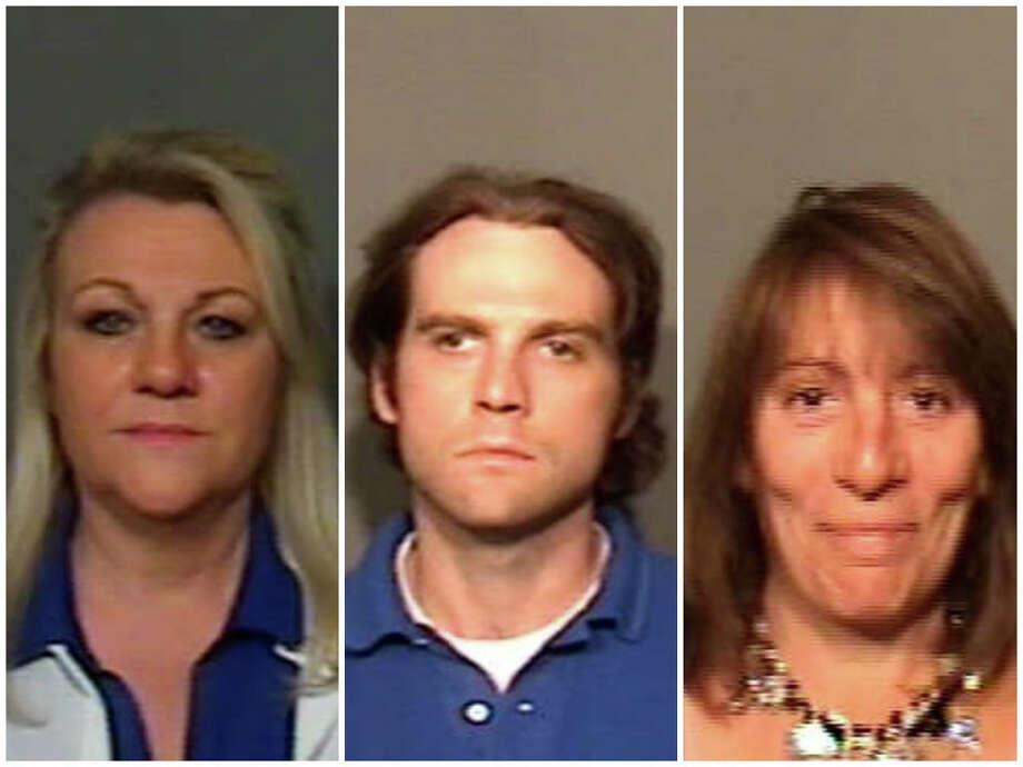 From left: Ruth Jones, Adam Jones, Lynda Silvestro. Photo: Contributed