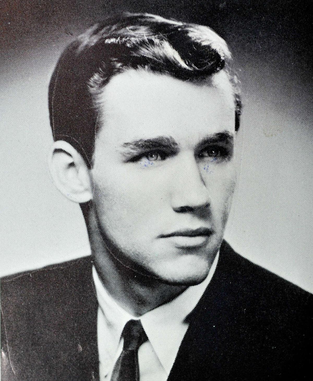 Steve Simmons is seen in his yearbook from Wheatley High School in Old Westbury, N.Y., from 1963.