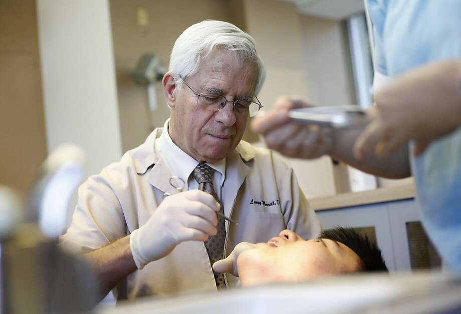Orthodontist Dr. Larry Morrill says a clinical trial through UCSF and Stanford University has eased his osteoarthritis. Photo: Sarah Rice, Special To The Chronicle