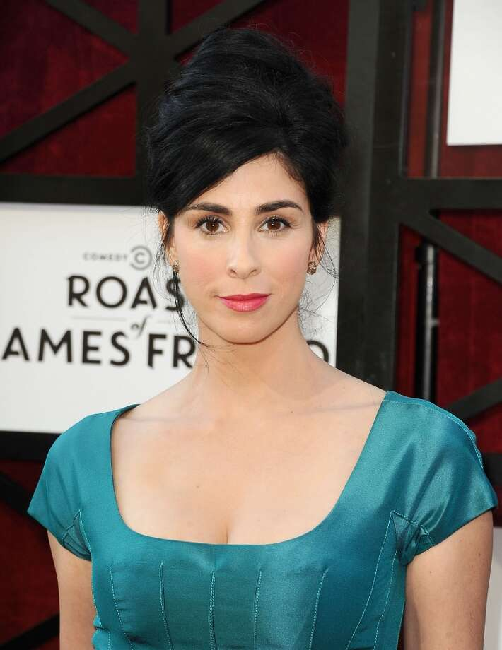 Actress Sarah Silverman attends the Comedy Central Roast of James Franco at Culver Studios on August 25, 2013 in Culver City, California. Photo: Jason LaVeris, FilmMagic