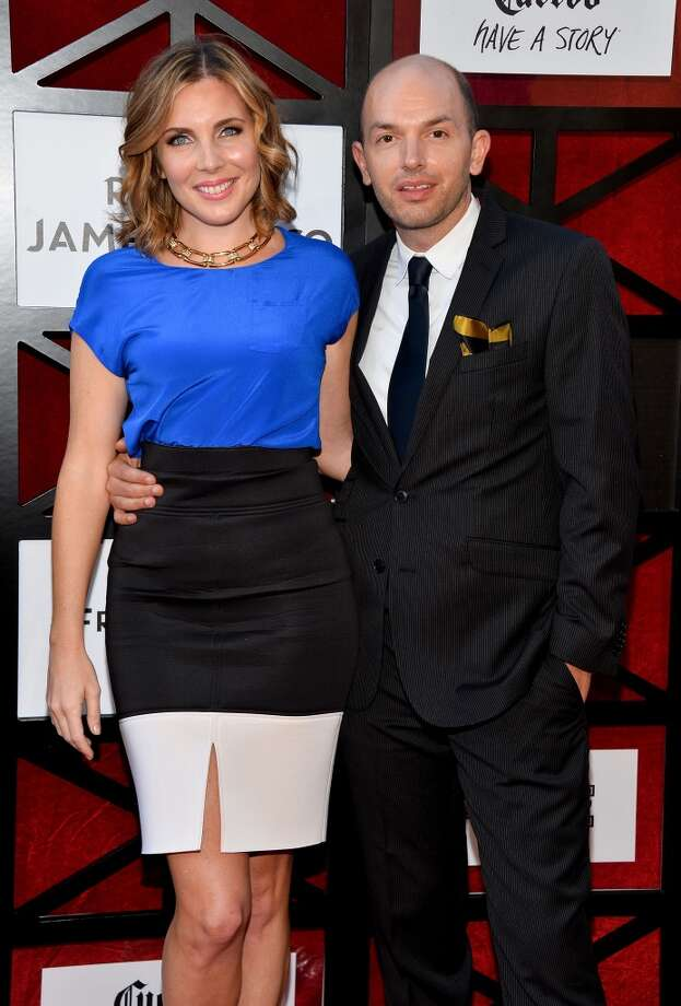 Actress June Diane Raphael (L) and actor Paul Scheer arrive at the Comedy Central Roast of James Franco at Culver Studios on August 25, 2013 in Culver City, California. Photo: Amanda Edwards, WireImage