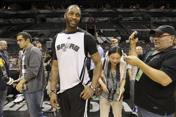 Tracy McGrady said he wished he could have had a chance to contribute during the Spurs' loss to Miami in the NBA Finals.