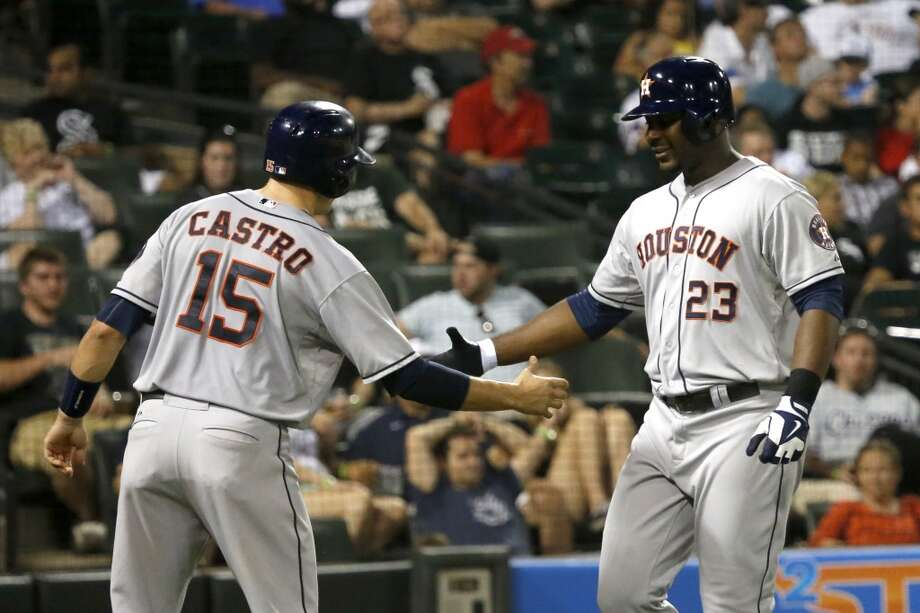 Aug. 26: Astros 10, White Sox 8Houston hit five home runs en route to a wild victory in Chicago.  Record: 44-86. Photo: Charles Rex Arbogast, Associated Press
