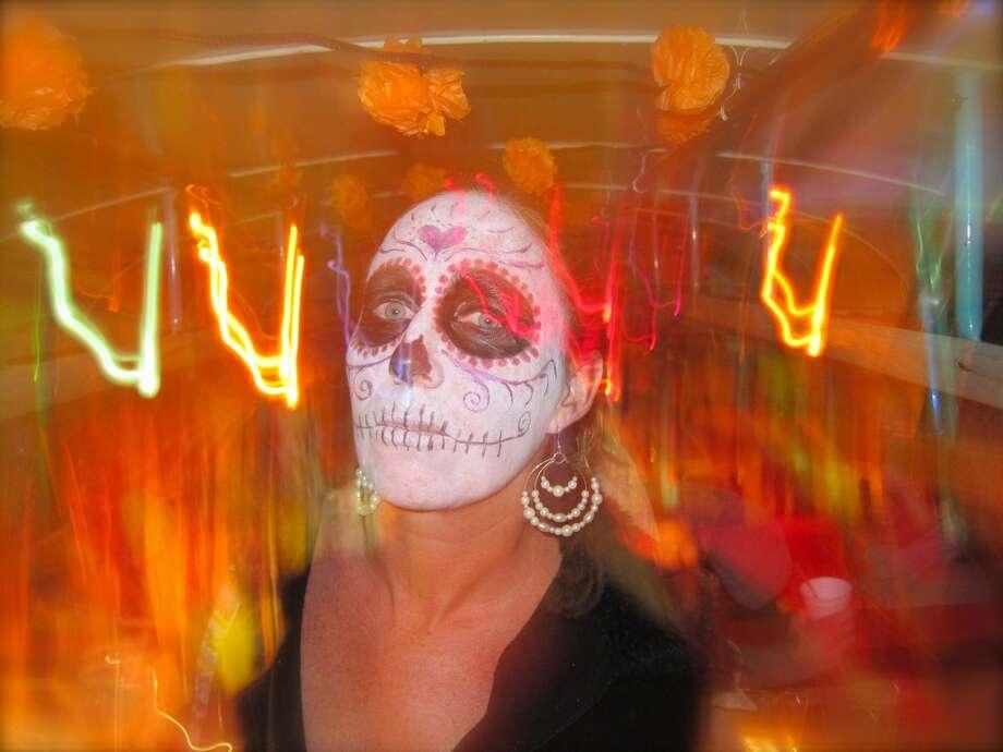 Dia de los Muertos festival in Oaxaca, Mexico. Photo: Art Gimbel, Fest300