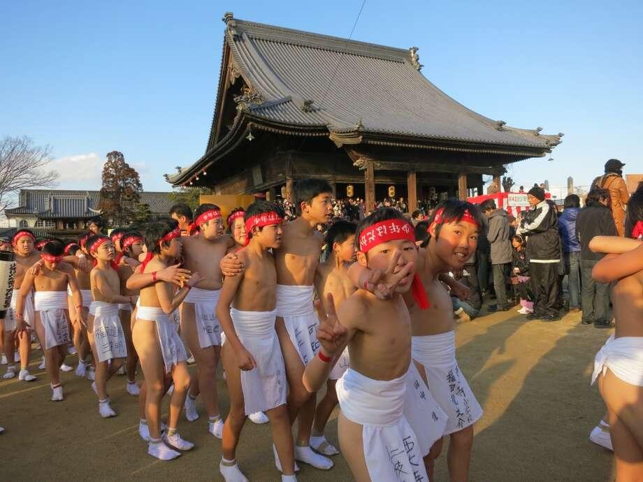 Hadaka Matsuri in Okayama, Japan. Photo: Art Gimbel, Fest300